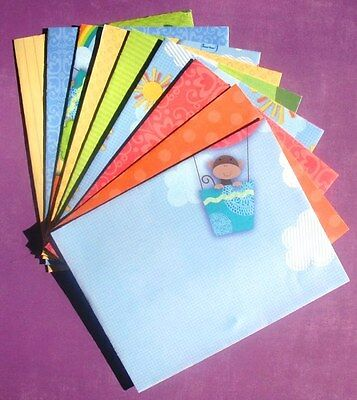Playground  - A2 Handcrafted Envelope Set