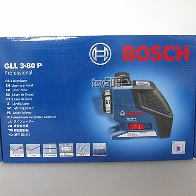 BOSCH GLL3-80P 360-Degree 3-Plane Leveling and Alignment Line Laser GLL 3-80 P