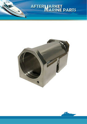 Volvo Penta oil cooler housing RO: 860635 Stainless Steel AISI316