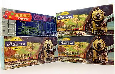 Athearn & Roundhouse 'ho' Gauge Rake Of 4 Assorted Freight Wagons (2M)