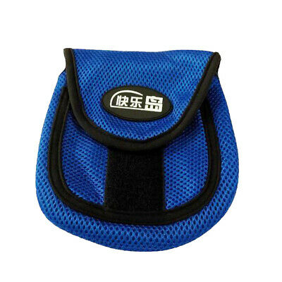 Fly Fishing Baitcasting Reel Protective Bag Fishing Wheel Pouch Case Cover S M L