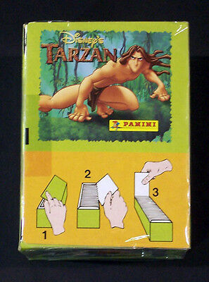 1999 Panini Tarzan Sticker Box - 100 Packs