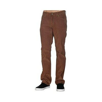 Volcom Men's Solver Cords Casual Chocolate W36inch - L34inch