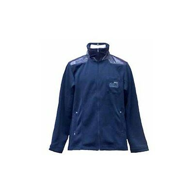 WESC Men's Ymer Warm-Up Jacket with Emboridery & Left Breast Snap Closure On Arm