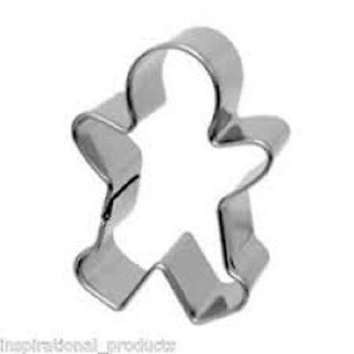 Eddingtons Gingerbread Boy Cookie Cutter - Biscuit Stainless Steel Cutter