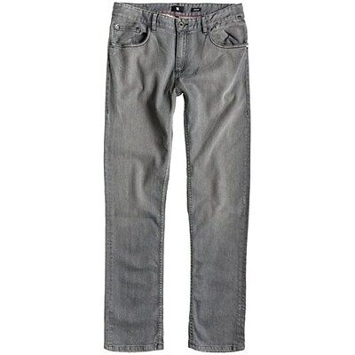 DC Men's Straight Up Jeans - Light Grey Casual