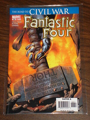 Fantastic Four #536 Vol1 Marvel Comics Civil War May 2006