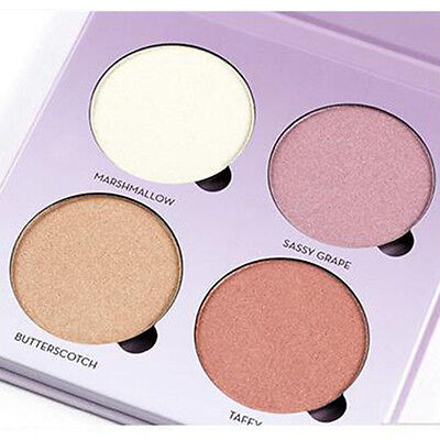 4 Colors Make up Glow Kits palette Face Powder Bronzer&Highlighter MakeupTools