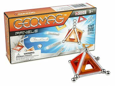 Geomag 22-Piece Construction Set with Assorted Panels