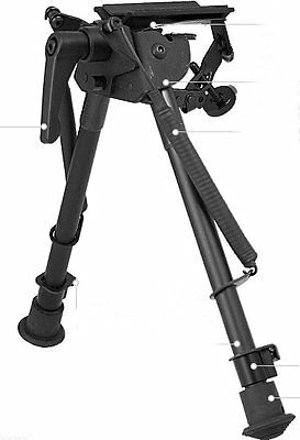 "Deben 9-13"" Swivel Lever Tilt Bipod For Rifle And Air Rifle Shooting Hunting"