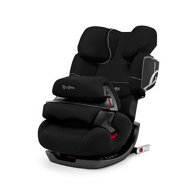 Car seat group 1/2/3 Kg. 9-39 PALLAS 2-FIX Pure Black black Cybex