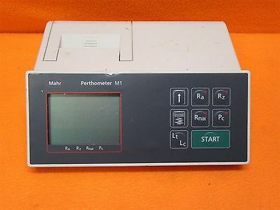 Mahr Federal Inc. Perthometer M1 Surface Roughness Measurement Equipment