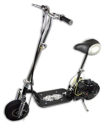 49cc Petrol Foldable Scooter Suspension 50cc 2 Stroke Top Speed 35km/h