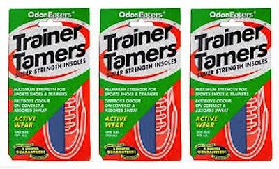 3 Pairs - Odor-Eaters Trainer Tamers