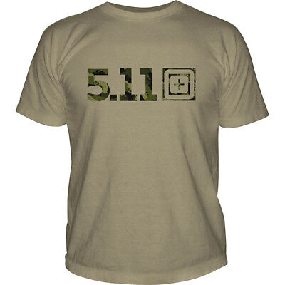 5.11 Tactical Camo Logo T-Shirt
