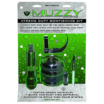 Muzzy Extreme Duty Spincast BF Kit - 7506