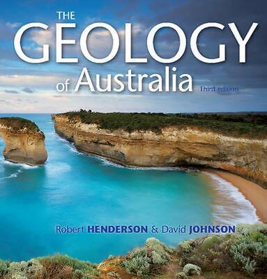 The Geology of Australia by David Johnson Paperback Book (English)