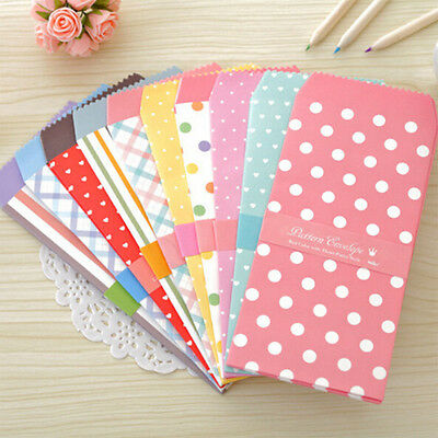 5Pcs/1Pack Envelope Small Gifts Crafts Envelope for Letter Invitations