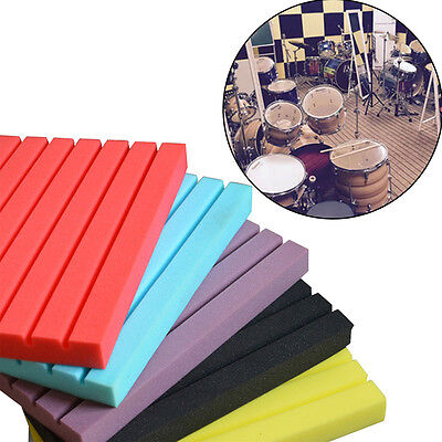 High-density Soundproof Wedge Acoustic Foam Sound Absorption Panel 50*50*2cm