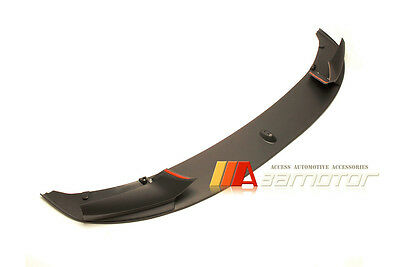 Performance Style PP Front Lip Spoiler for BMW F10 Sedan M Sport M Tech Bumper