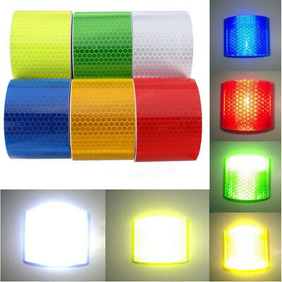 High-Quality Multicolor Reflective Safety Warning Conspicuity Tape Film Sticker