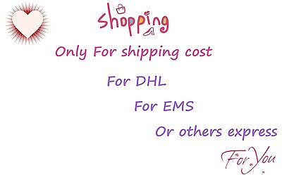For shipping cost EMS expresss DHL express only