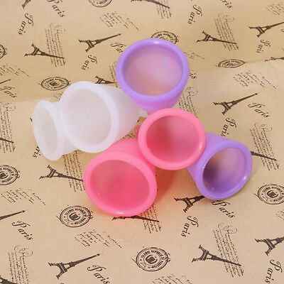 Reusable Silicone Menstrual Cup Period Medical Diva Small Large Size