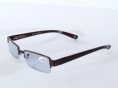 Reading Glasses, Unisex / Mens Ladies Trendy Designer, Spring Hinged (Burgundy)
