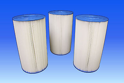 CLOSEOUT 3 PACK SPA FILTER FITS:hot spring UNICEL C-6430 PLEATCO PWK-30,FC-3915
