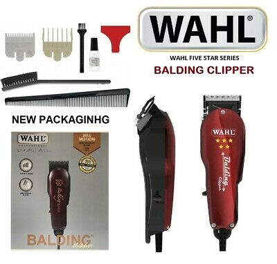 2e6d3f9cc WAHL PROFESSIONAL BALDING Clipper Trimmer Barber Hair Beard Tool ...