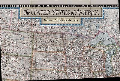 Large NG Map. 1951 United States of America   (ZS.49)