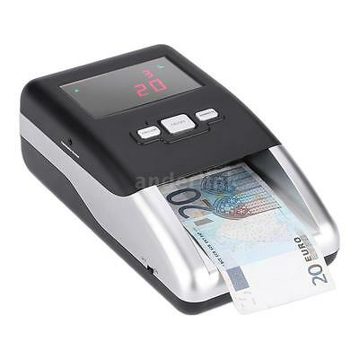 Portable Banknote Detector for Euro LED Display Sheets Denomination Value X5P9