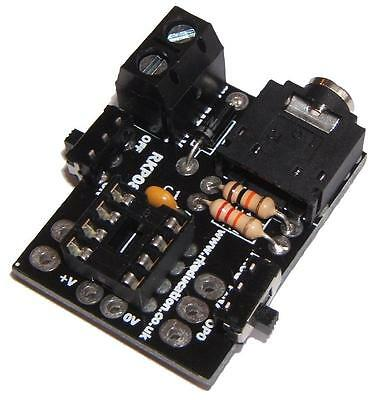 Rk Education - RKP08C KIT - Project Pcb For 8pin Picaxe & Genie