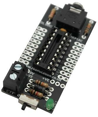 Rk Education - RKP18C KIT - Project Pcb For 18pin Picaxe & Genie