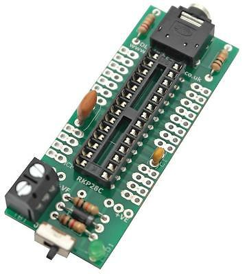 Rk Education - RKP28C KIT - Project Pcb For 28pin Picaxe & Genie
