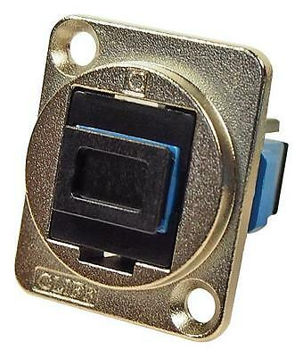 Cliff Electronic Components - CP30215M - Sc Simplex Sm Adapter, Csk Hole, Black