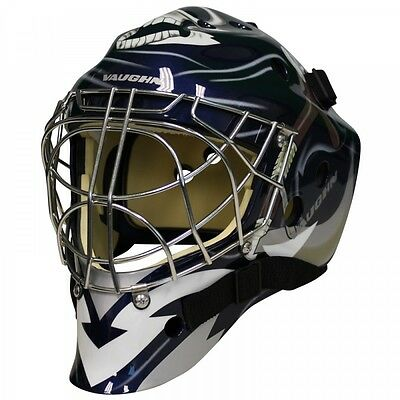 New Vaughn 7700 Cat Eye goal helmet Reaper senior small ice hockey goalie mask