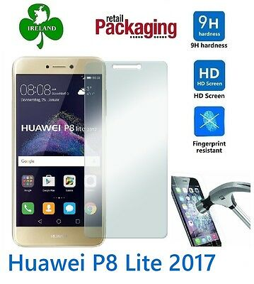 Premium Tempered Glass™ For Huawei P8 Lite 2017 Screen Protector Film Guard New