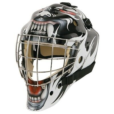 New Vaughn 7700 goal helmet Tribal Animal senior medium ice hockey goalie mask