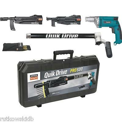 Quik Drive Auto Feed Makita-powered System Screwdriver Kit