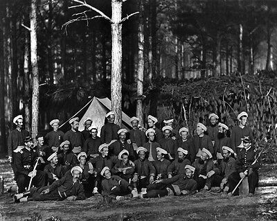 New 11x14 Civil War Photo: Company F, 114th Pennsylvania Infantry