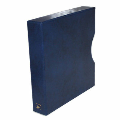 "Seven Seas 32mm Slipcase for Seven Seas ""D"" Ring Binder - Blue"