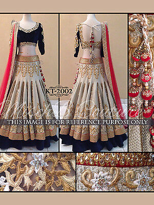 Asian Wedding Lehenga Net Choli Designer Fashion Style Partywear Dress