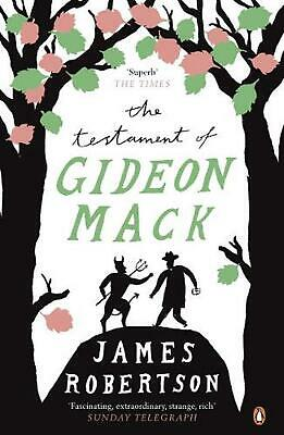 The Testament of Gideon Mack by James Robertson Paperback Book Free Shipping!
