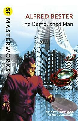 The Demolished Man by Alfred Bester Paperback Book Free Shipping!