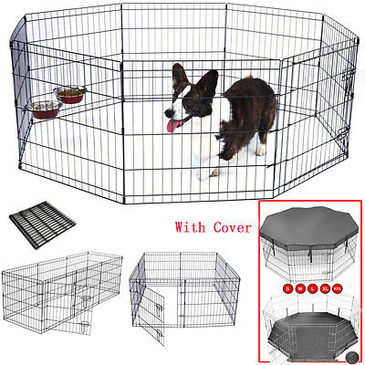 Extra Large Amimal Pet Play Pen Puppy Rabbit Cage Dog Playpen Run Enclosure