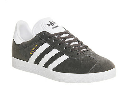 Adidas Gazelle Dgh Solid Grey White Gold Met Trainers Shoes