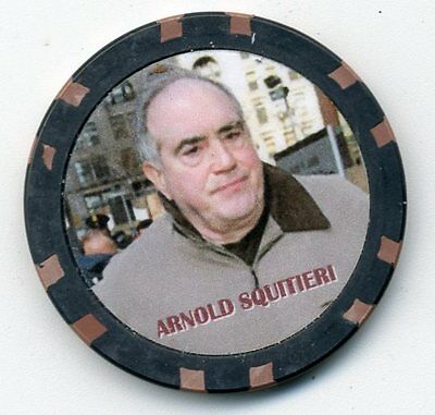 Arnold Squitieri  Gangster  Collector Chip