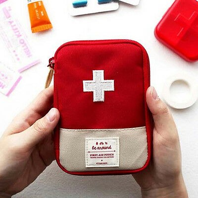 Portable Home Travel Camping Medical Bag Emergency Survival First Aid Kit Bag FT