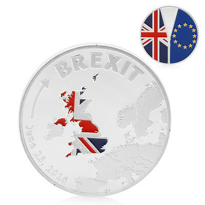 Cook Islands Brexit Commemorative Coins Collection Silver Plated